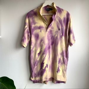 Polo by Ralph Lauren tie dyed modified polo NWOT